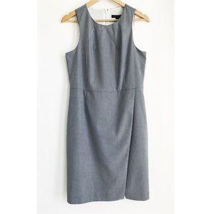 BANANA REPUBLIC Blue/White Stripe Sheath Dress